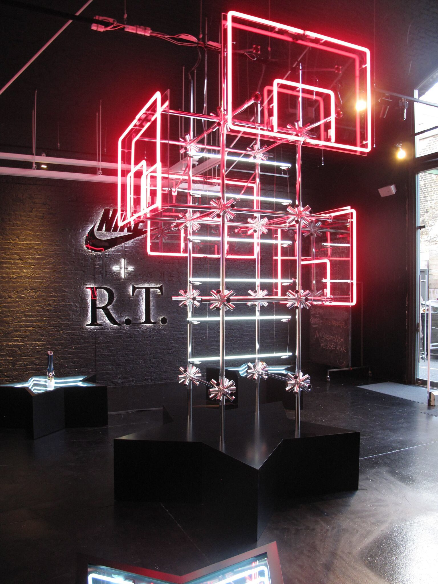 Retail Lighting Solutions/ Nike X Riccardo Tisci/ Hotel Creative