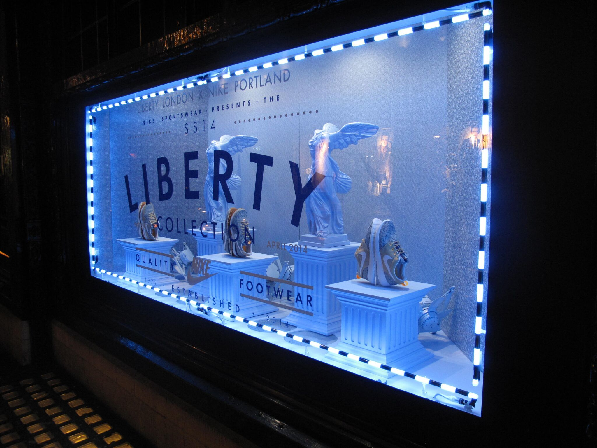 Retail Lighting Solutions/ Nike Liberty Window/Hotel Creative