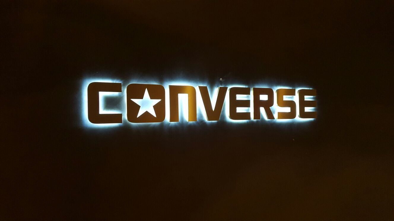 Neon Retail Signage/ Converse