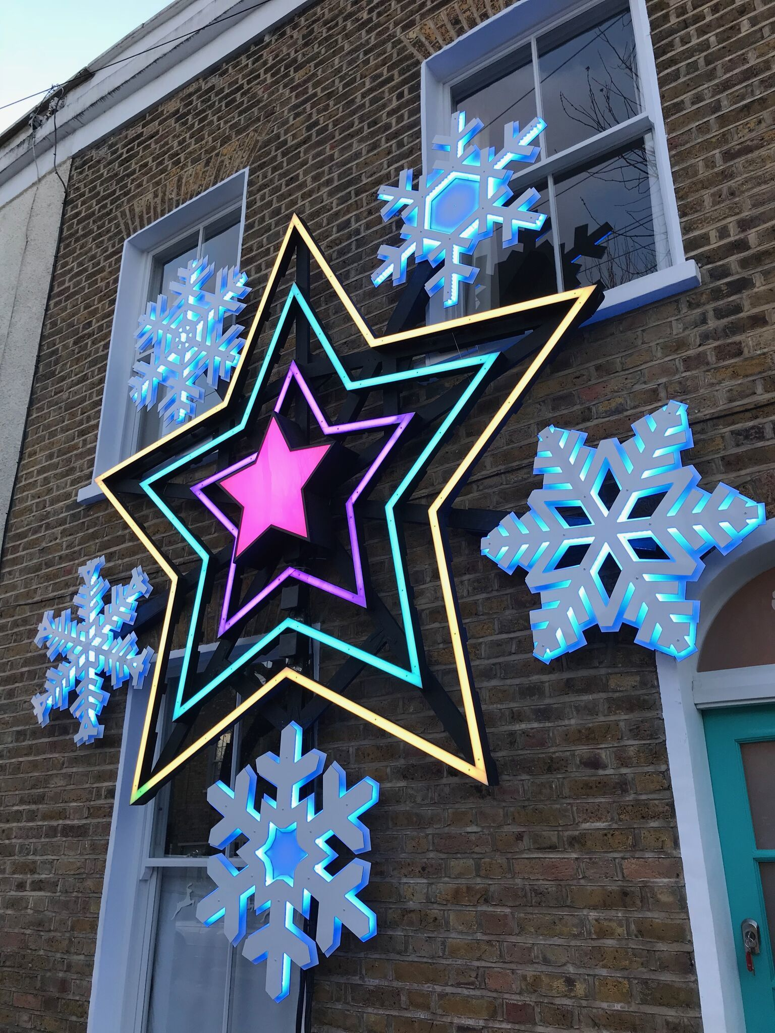 LED Lighting Solutions/ Christmas Star/ Residential