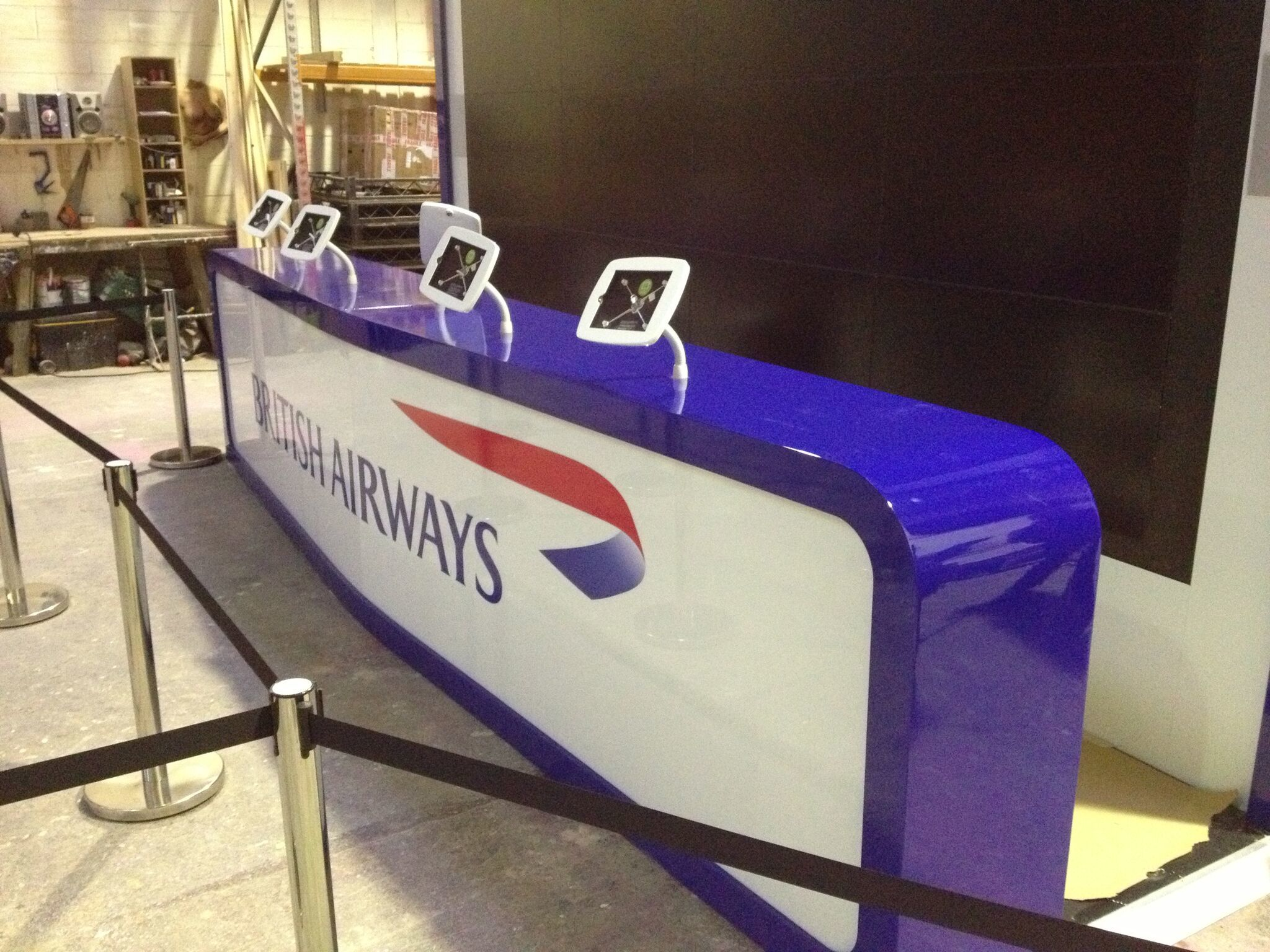Event Production and Installation for British Airways/ BBH/ Victoria Station