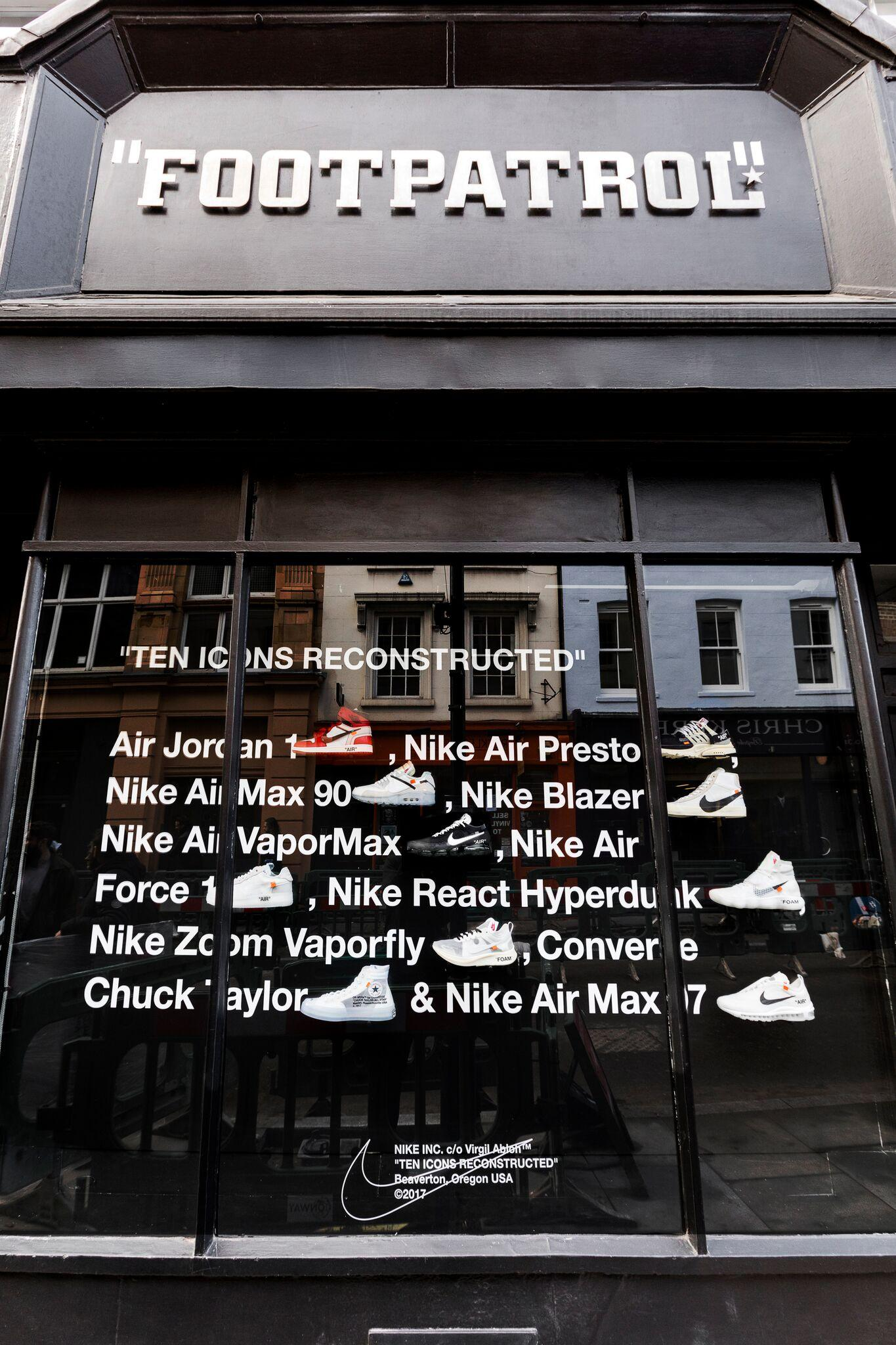 Retail Display Production Footpatrol The Ten Exterior
