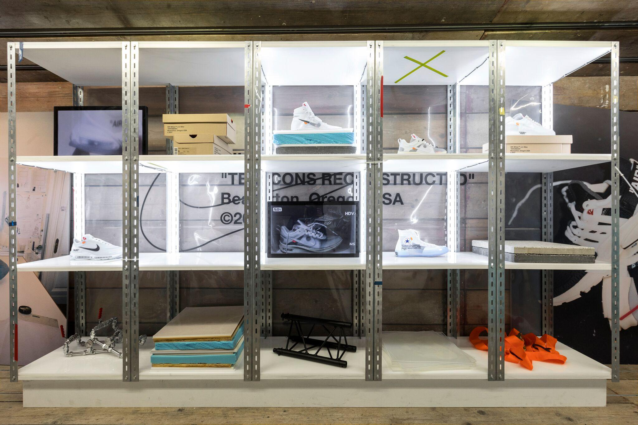 Retail Display Production Footpatrol The Ten Shelving Close