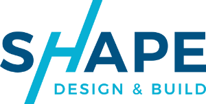 Shape Design and Build logo