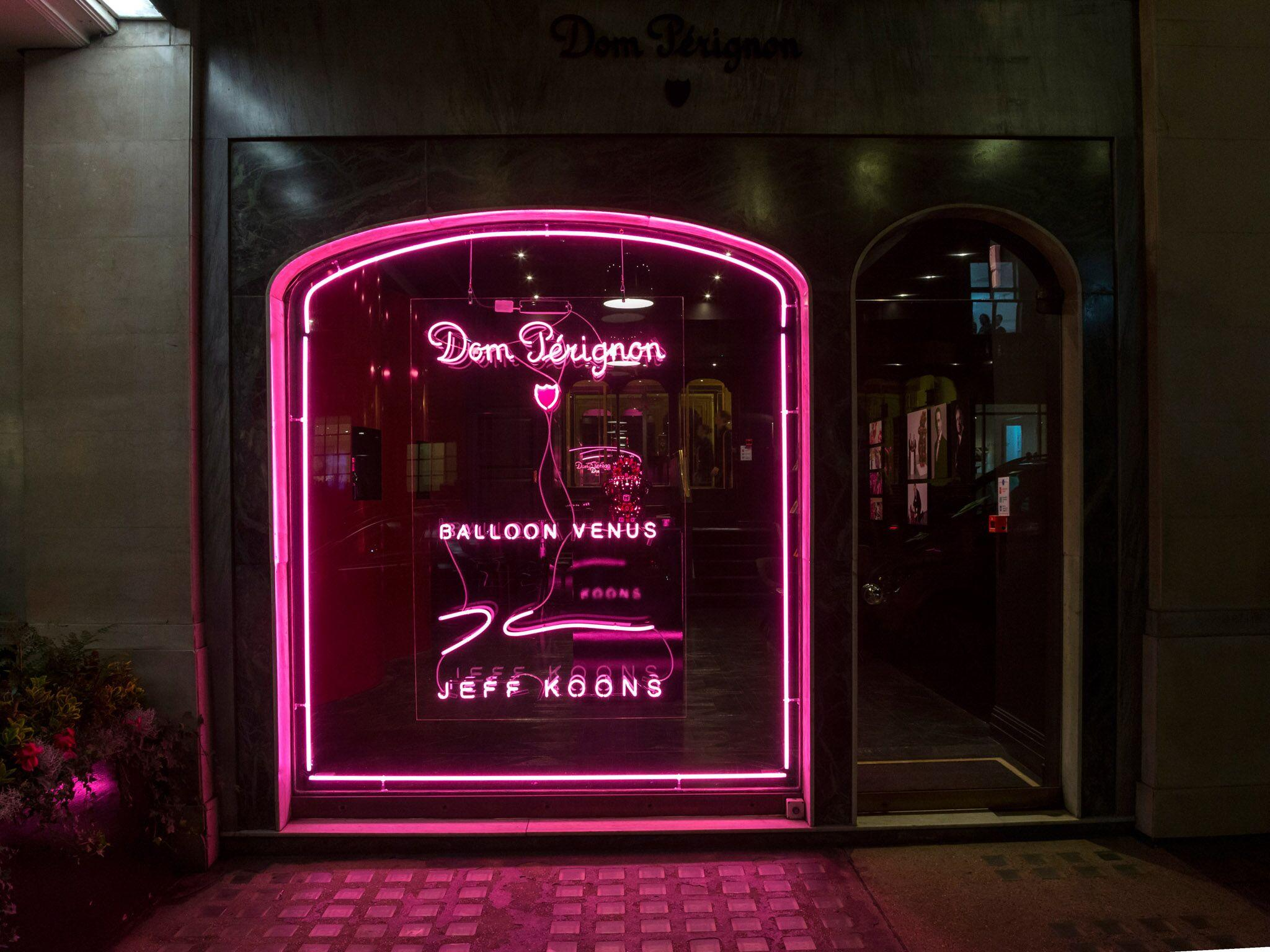 Retail Display Production Dom Perignon Exterior