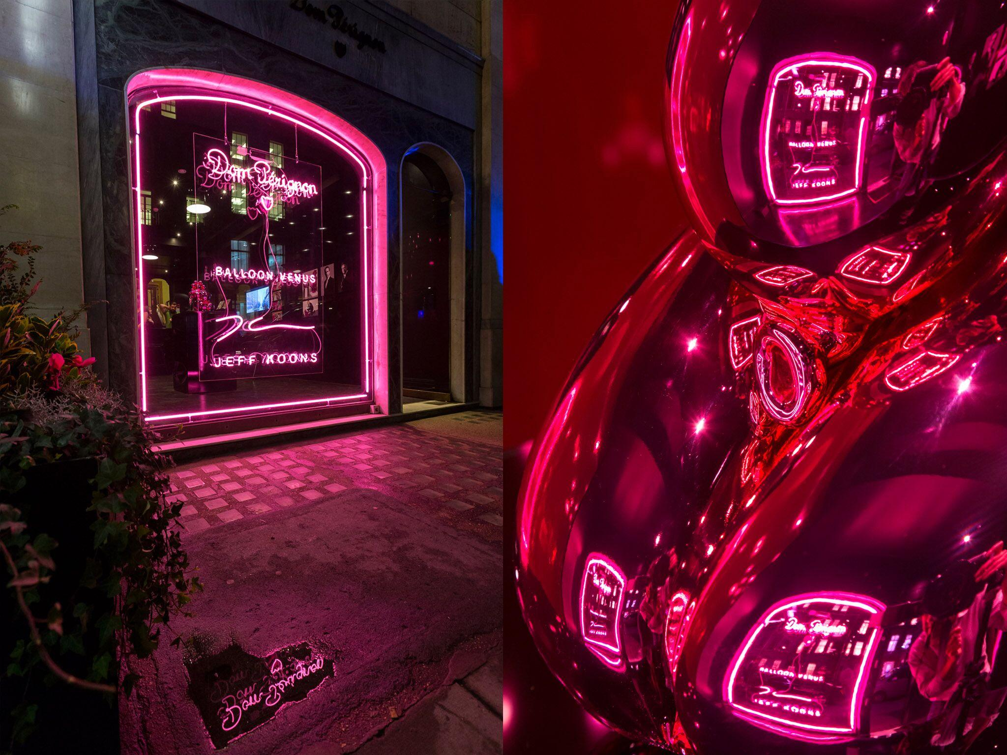 Retail Display Production Dom Perignon Montage
